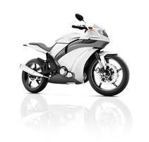 illustration de transport sport moto concept de course photo