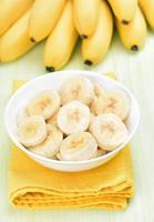 tranches de banane photo