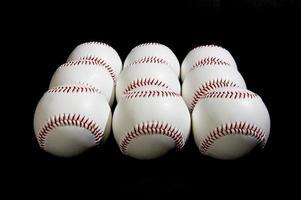 balles de baseball photo