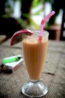 smoothie en Thaïlande. photo