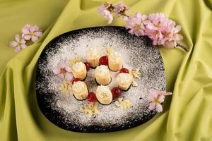dessert à la banane photo