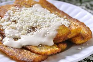 bananes frites photo