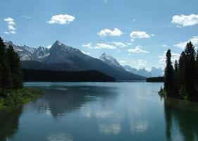 lac maligne photo