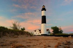 grand phare de sable point photo