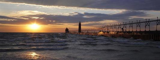 phare de pierhead sud grand havre photo
