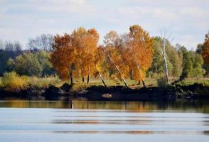 steppe et lac