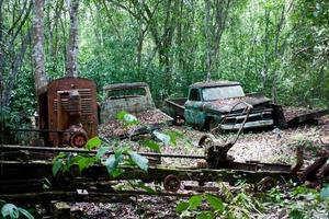 voitures rouillées