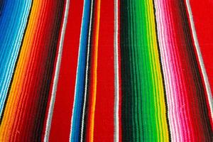 poncho mexicain photo