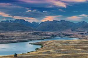 coucher de soleil lac alexandrina