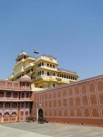 chandra mahal dans city palace, jaipur. photo