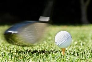 swing de golf photo