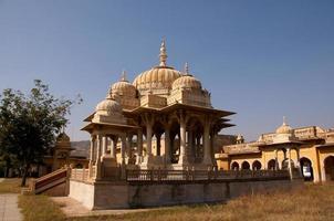 chhatriyan, jaipur, rajasthan, inde. photo