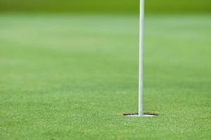 trou de golf photo
