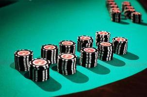 jetons de poker photo