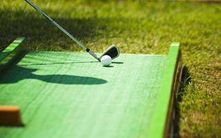 mini golf photo