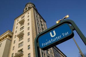 Frankfurter tor photo