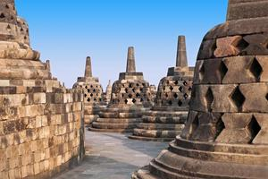temple de borobudur photo