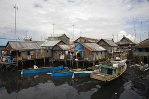 quartier des bidonvilles photo