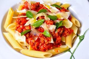 Penne Bolognese photo