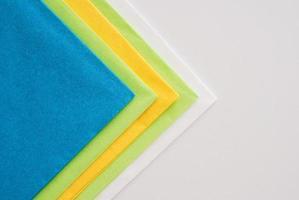 serviettes en papier photo