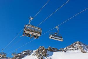 station de ski de montagne - innsbruck autriche photo