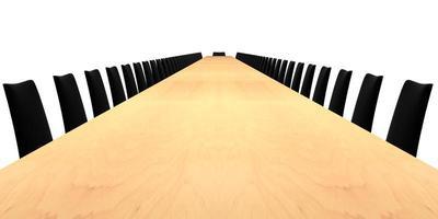 table de salle de conférence photo