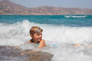 enfant sur une plage
