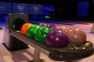 boules de bowling photo