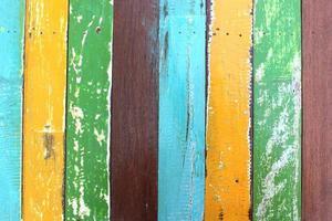 coloré de peinture bois pour fond de texture. photo