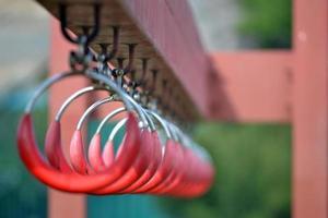 anneaux pour l'exercice photo