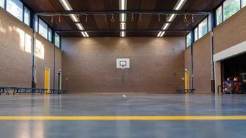 intérieur d'une salle de gym à l'école photo