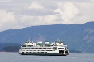 bateau ferry île photo