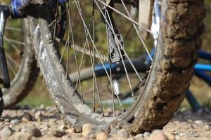 pneu à plat photo