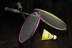 équipement de badminton photo