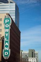signe de Portland photo