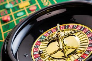 jeu de casino de roulette photo