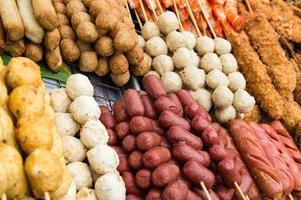nourriture du marché photo