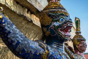 gardien démon wat phra kaeo photo