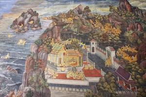 peintures murales photo