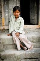 fille rurale photo