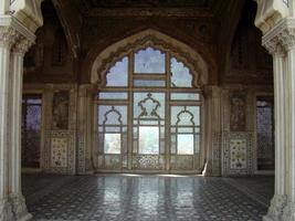 sheesh mahal, fort de lahore, pakistan photo