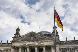 Bâtiment du Parlement allemand (Reichstag) à Berlin