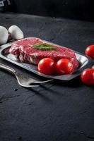 steak cru. photo