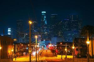 paysage urbain de los angeles photo
