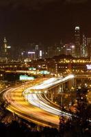 vue de nuit route 3 de lai king photo