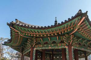 toit du palais de changdeokgung photo