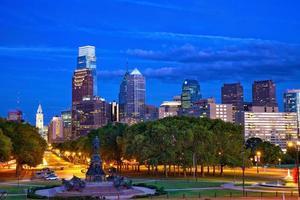 Philadelphie au crépuscule photo