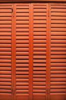 fenêtre orange vif vintage