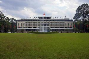 Palais de la réunification à ho chi minh city photo