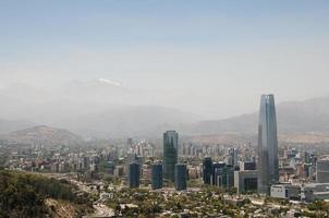 centre-ville de santiago - chili photo